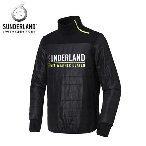 선덜랜드 SUNDERLAND 남성 퀄팅포인트 소매 패딩 손토시 목폴라 점퍼/자켓 - 26741WB01