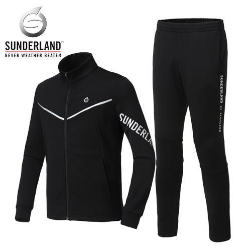 선덜랜드 SUNDERLAND 남성 겨울 방한 라인 로고포인트 축구 트레이닝 상하의세트 - 26741TR01