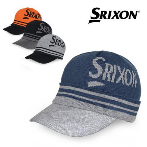 스릭슨 자카드 니트 캡 GAH-17032I 모자 골프모자 골프용품 필드용품 필드모자 방한모자