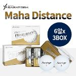 [세트상품] 사라토가 Maha Distance 프리미엄 2피스 골프공 6알 * 3box