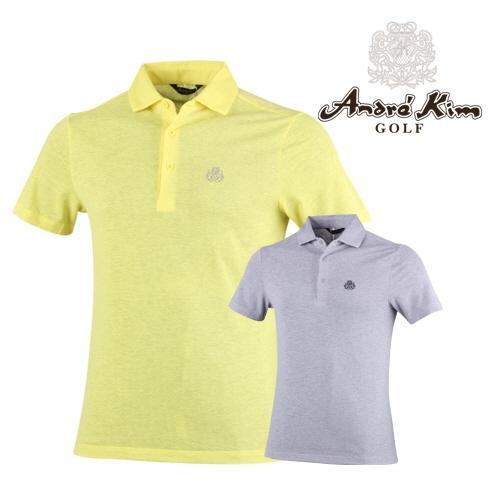앙드레김 골프 카치온 반팔 카라 셔츠 AB6BMTS015