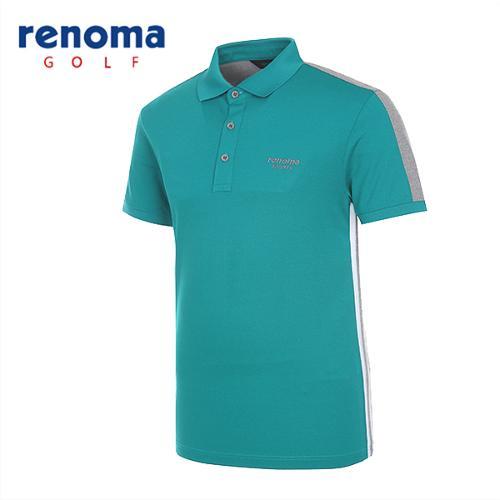 [레노마골프]남성 블록 스트레치 반팔 티셔츠 RATS2D531-DM