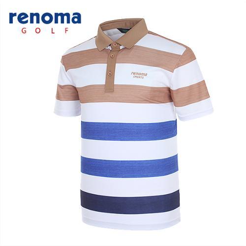 [레노마골프]남성 그라데이션 반팔 티셔츠 RATS30531-CA