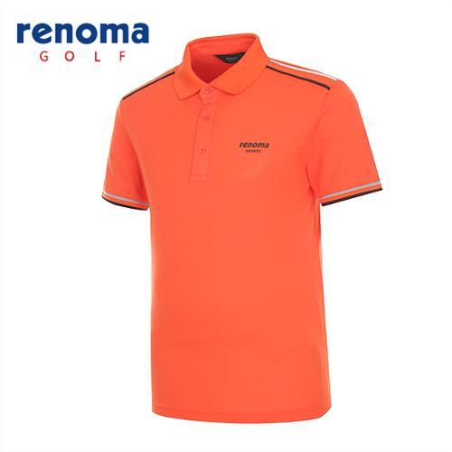 [레노마골프]남성 초경량 배색라인 반팔 티셔츠 RATS35531-DO