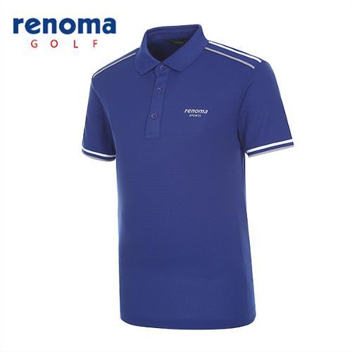 [레노마골프]남성 초경량 배색라인 반팔 티셔츠 RATS35531-RB