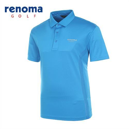 [레노마골프]남성 솔리드 메쉬 반팔 티셔츠 RATS37531-DB