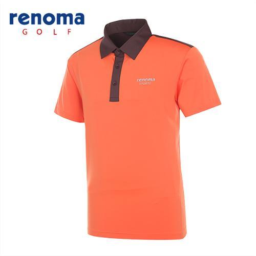 [레노마골프]남성 스트레치 블럭 반팔 티셔츠 RATS49531-DO