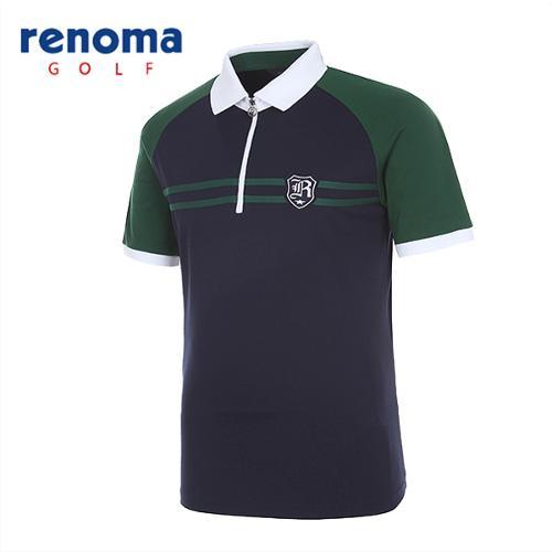 [레노마골프]남성 스포티 나그랑 반팔 티셔츠 RATSM1531-NY