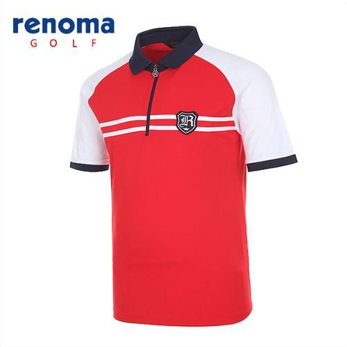 [레노마골프]남성 스포티 나그랑 반팔 티셔츠 RATSM1531-RD