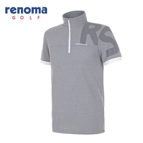 [레노마골프]남성 스포티 반팔 반집업 하프넥 티셔츠 RATS31631-MG