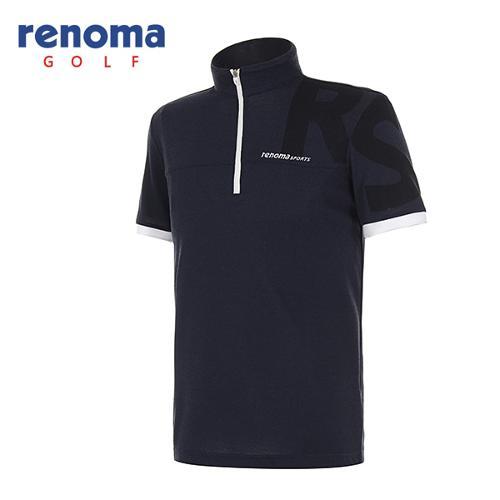 [레노마골프]남성 스포티 반팔 반집업 하프넥 티셔츠 RATS31631-NY