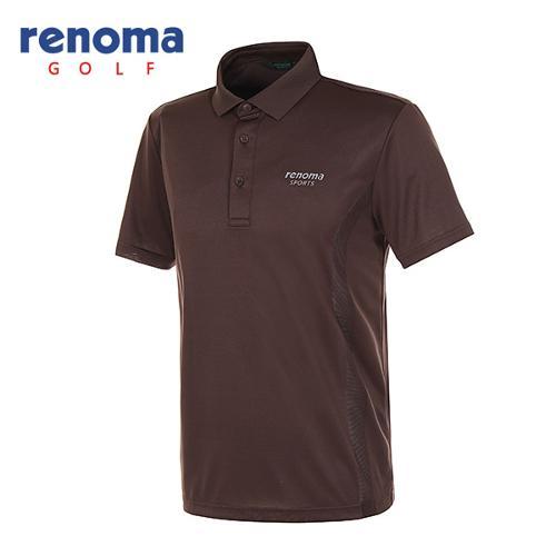 [레노마골프]남성 메쉬 패널 소프트 반팔 티셔츠 RATS37531-BR