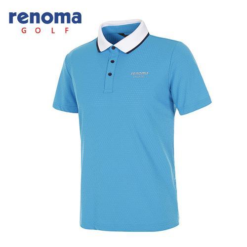 [레노마골프]남성 스트레치 메쉬 반팔 카라 티셔츠 RATS24631-DB