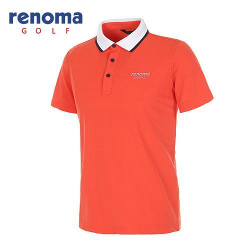 [레노마골프]남성 스트레치 메쉬 반팔 카라 티셔츠 RATS24631-DO
