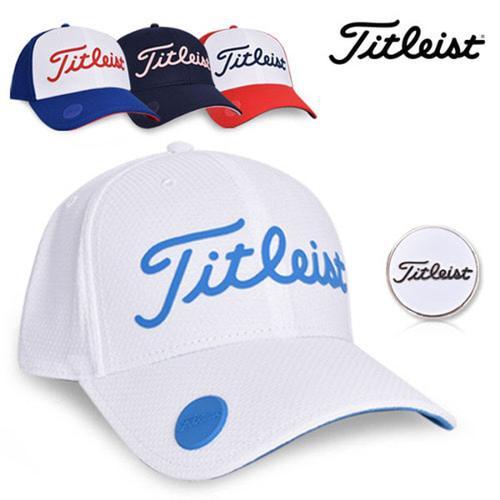 17 타이틀리스트 퍼포먼스 볼 마커 캡 TH7APBMS 모자 골프모자 골프용품 필드용품