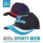 [한국미즈노정품]MIZUNO SPORTY CAP 3칼라믹스 골프캡 모자 (52KW161100)-2종칼라