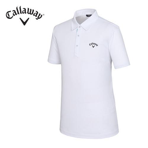 [캘러웨이]남성 베이직 솔리드 UV 티셔츠 CMTYF2101-100