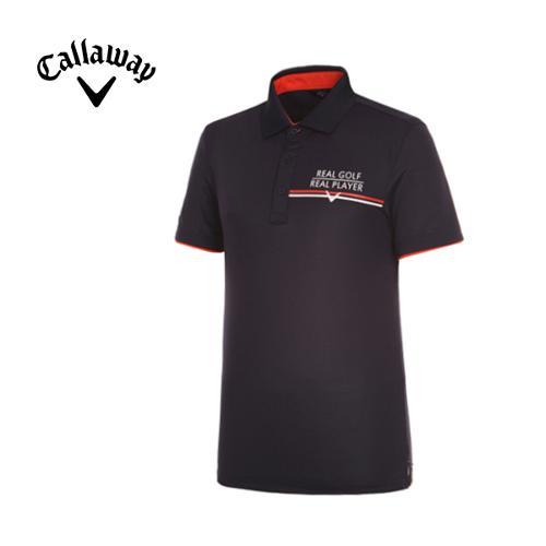 [캘러웨이]남성 쿨 라인 카라 반팔 티셔츠 CMTPF2112-915
