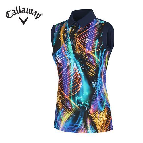 [캘러웨이]여성 네온 컬러 티셔츠 CWTYF6125-915