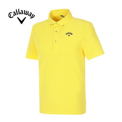 [캘러웨이]남성 스트라이프 반팔 폴로넥 티셔츠 CMTYE2194-203