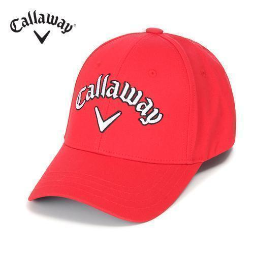 [캘러웨이]남성 베이직 메인 로고 캡 모자 CMACE1802-500