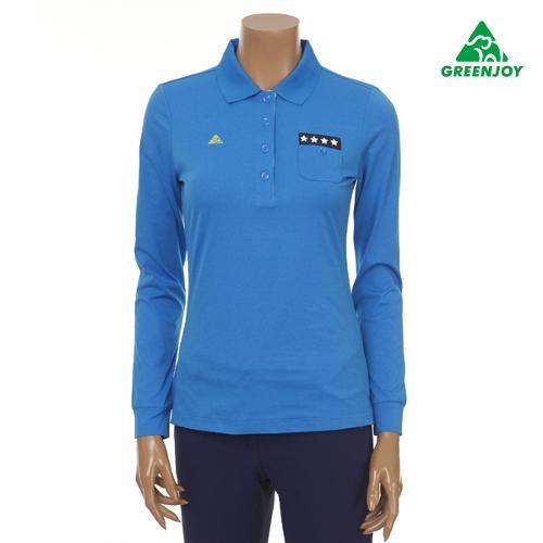GREENJOY 에리나염 솔리드 티셔츠 GP16KP51W_B1 [여성]