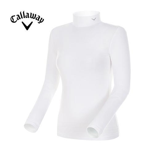 [캘러웨이]18SS 여성 솔리드 베이스레이어 긴팔 티셔츠 CWTHH5131-100