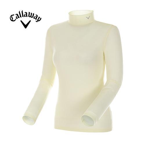 [캘러웨이]18SS 여성 솔리드 베이스레이어 긴팔 티셔츠 CWTHH5131-203