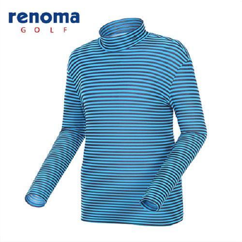 [레노마골프]남성 스트라이프 메쉬 레이어 티셔츠 RATS04511-NY