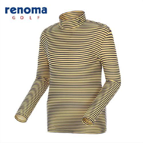 [레노마골프]남성 스트라이프 메쉬 레이어 티셔츠 RATS04511-MS