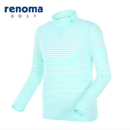 [레노마골프]남성 스트라이프 메쉬 레이어 티셔츠 RATS04511-MT