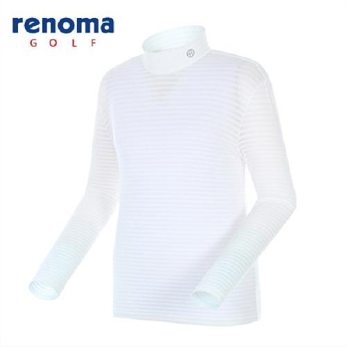 [레노마골프]남성 스트라이프 메쉬 레이어 티셔츠 RATS04511-OW