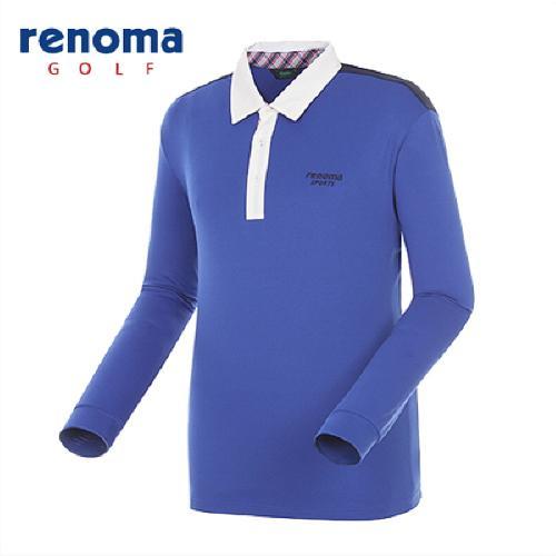 [레노마골프]남성 캐주얼 블록 스트라이프 티셔츠 RATS08511-RB