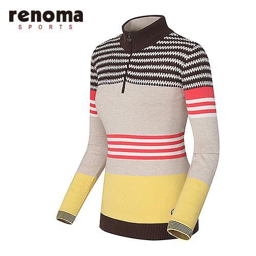 [레노마골프]여성 컬러풀 반집업 스웨터 RAKP51511-LY