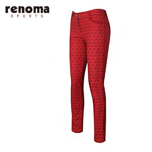 [레노마골프]여성 백기모 패턴 스키니 팬츠 RAPT56511-RD