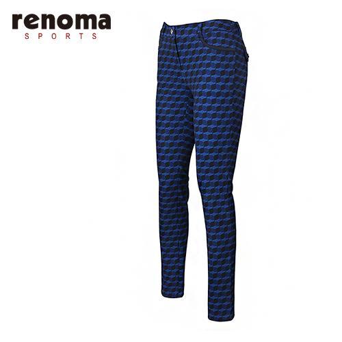 [레노마골프]여성 백기모 패턴 스키니 팬츠 RAPT56511-NY