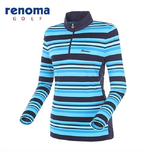 [레노마골프]여성 멀티 스트라이프 티셔츠 RATS5C511-BL