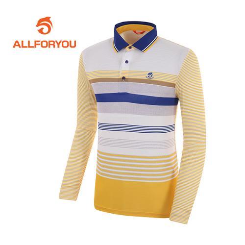 [올포유]남성 컬러 배색 카라 티셔츠 AMTPF1102-203