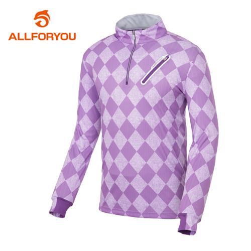 [올포유]남성 아가일 컬러 포인트 티셔츠 AMTHE1G23-604