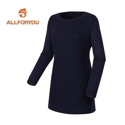 [올포유]여성 라인 샤틴배색 스웨터 AWSRD5252-915