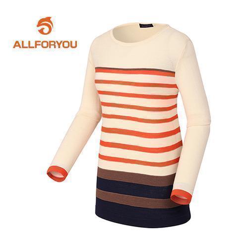 [올포유]여성 컬러 스트라이프 스웨터 AWSRD5251-102