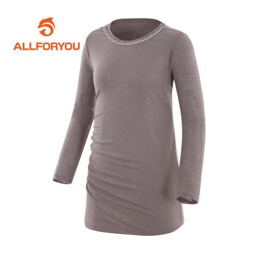 [올포유]여성 네크라인 포인트 티셔츠 AWTRF5156-509