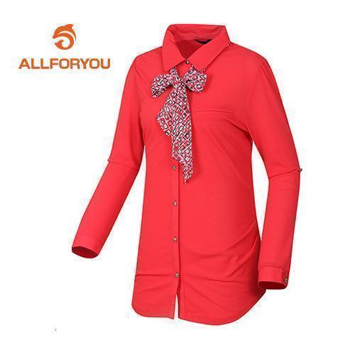 [올포유]여성 스카프 포인트 티셔츠 AWTRD5152-304