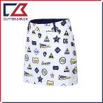 커터앤벅 여성 스판소재 프린팅 패턴포인트 큐롯 치마/스커트- PB-11-172-205-23