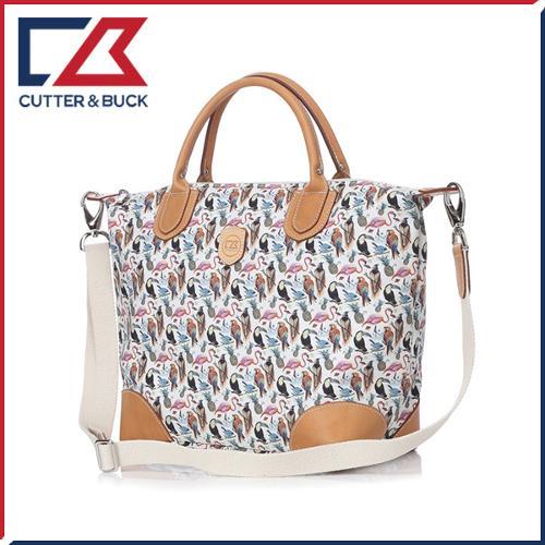 커터앤벅 여성 최고급 면소재 패턴포인트 숄더백/골프백 - PB-12-171-217-51