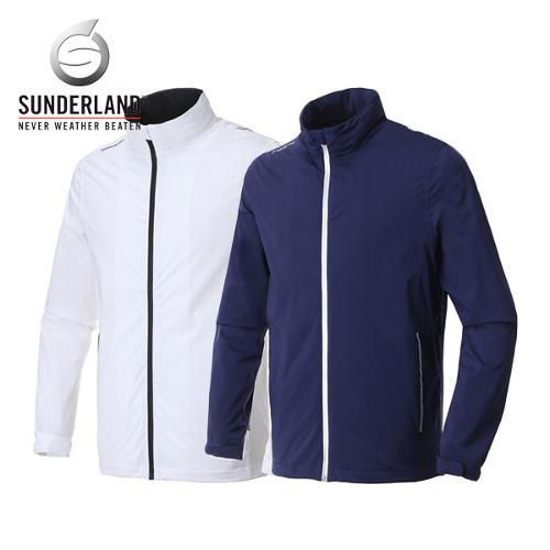 선덜랜드 남성 스판소재 스트레치 방풍 레인자켓/비옷 겸용 바람막이(후드삽입형) - 16811WR02