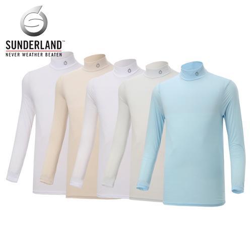 [Sunderland Of Scotland] 선덜랜드 남성 초슬림원단 냉감 반폴라 기능성티셔츠 - 16211TS