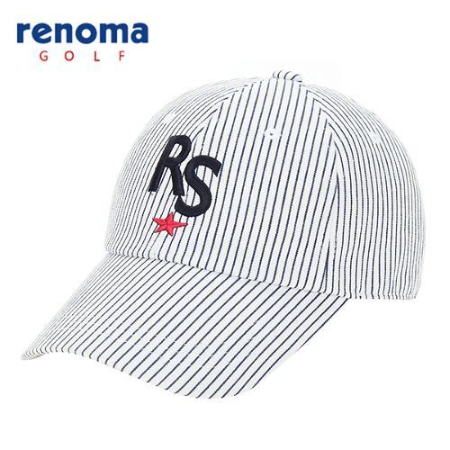 [레노마골프]남성 스트라이프 캐주얼 캡 모자 RCCP05611-OW