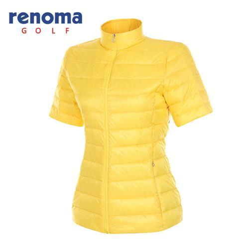 [레노마골프]여성 경량 덕다운 반팔 집업 점퍼 RAJP51511-LY
