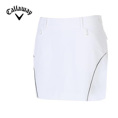 [캘러웨이]여성 컬러 라인 솔리드 큐롯 팬츠 CWPCG6561-100